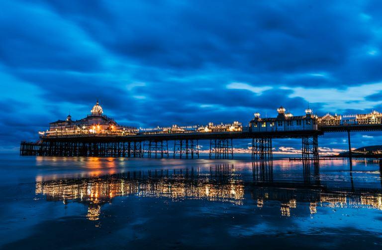 eastbourne pier vacanze studio inghilterra