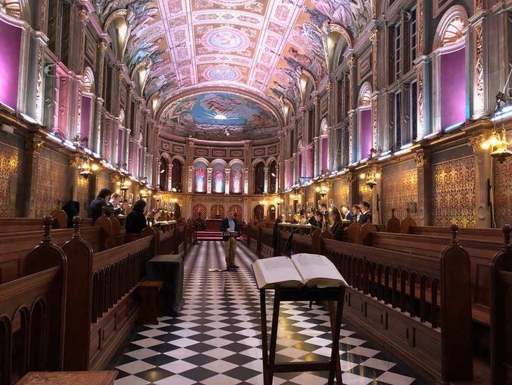 la cappella del college di egham