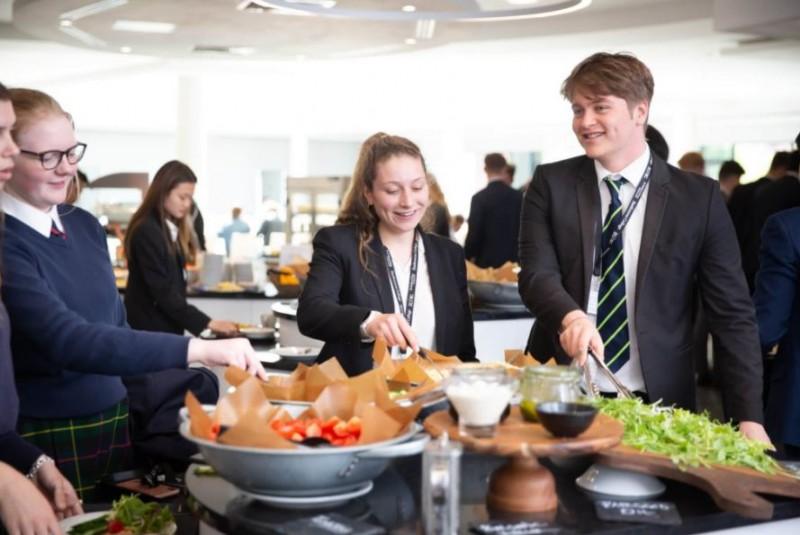 la cucina il cibo eastbourne college