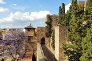 Alcazaba malaga Viaggio studio a malaga
