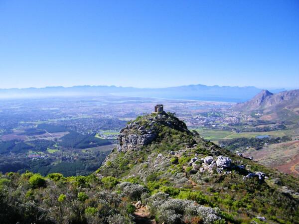 Table mountain park viaggio studio in sudafrica