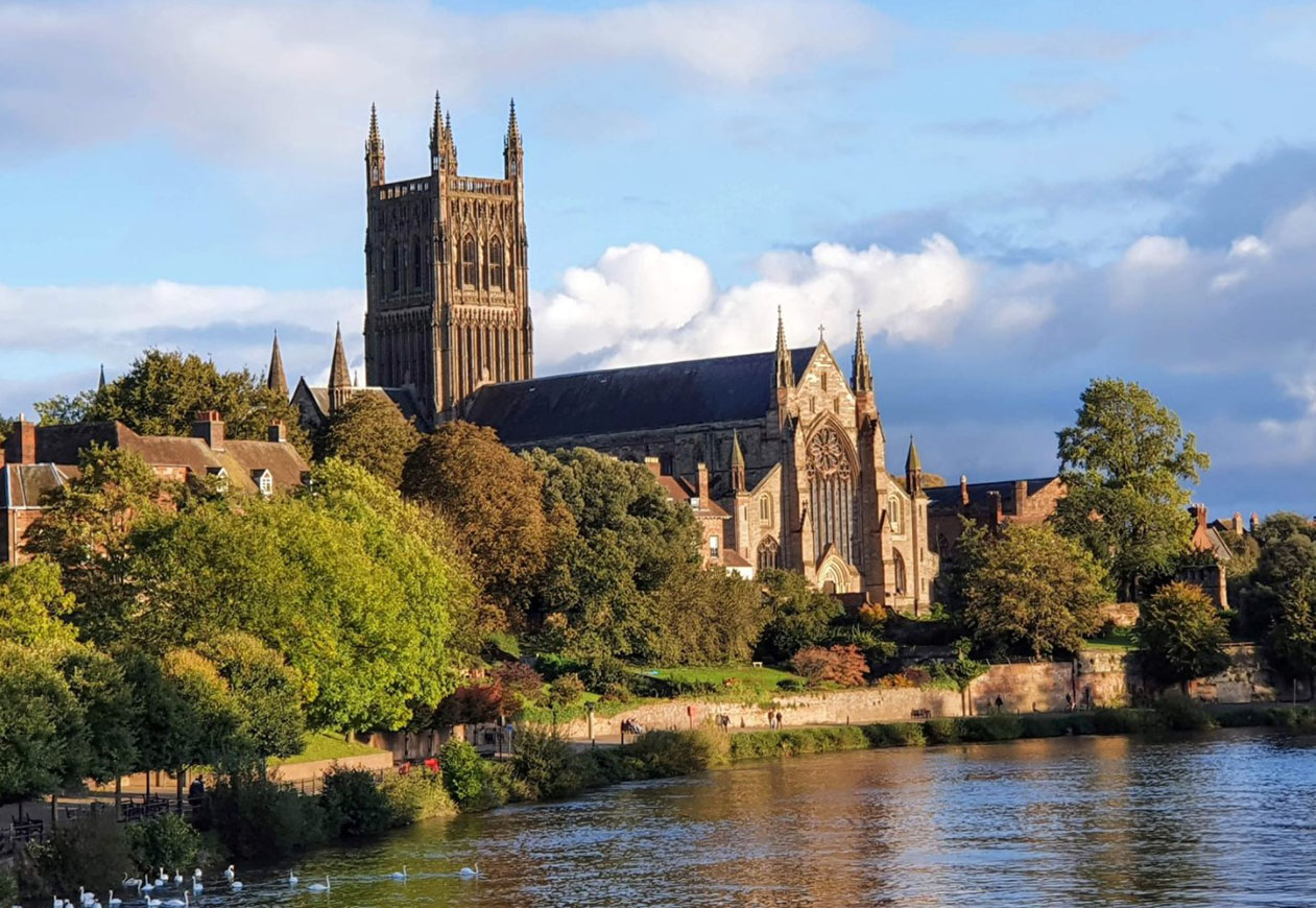 cosa vedere a worcester cattedrale