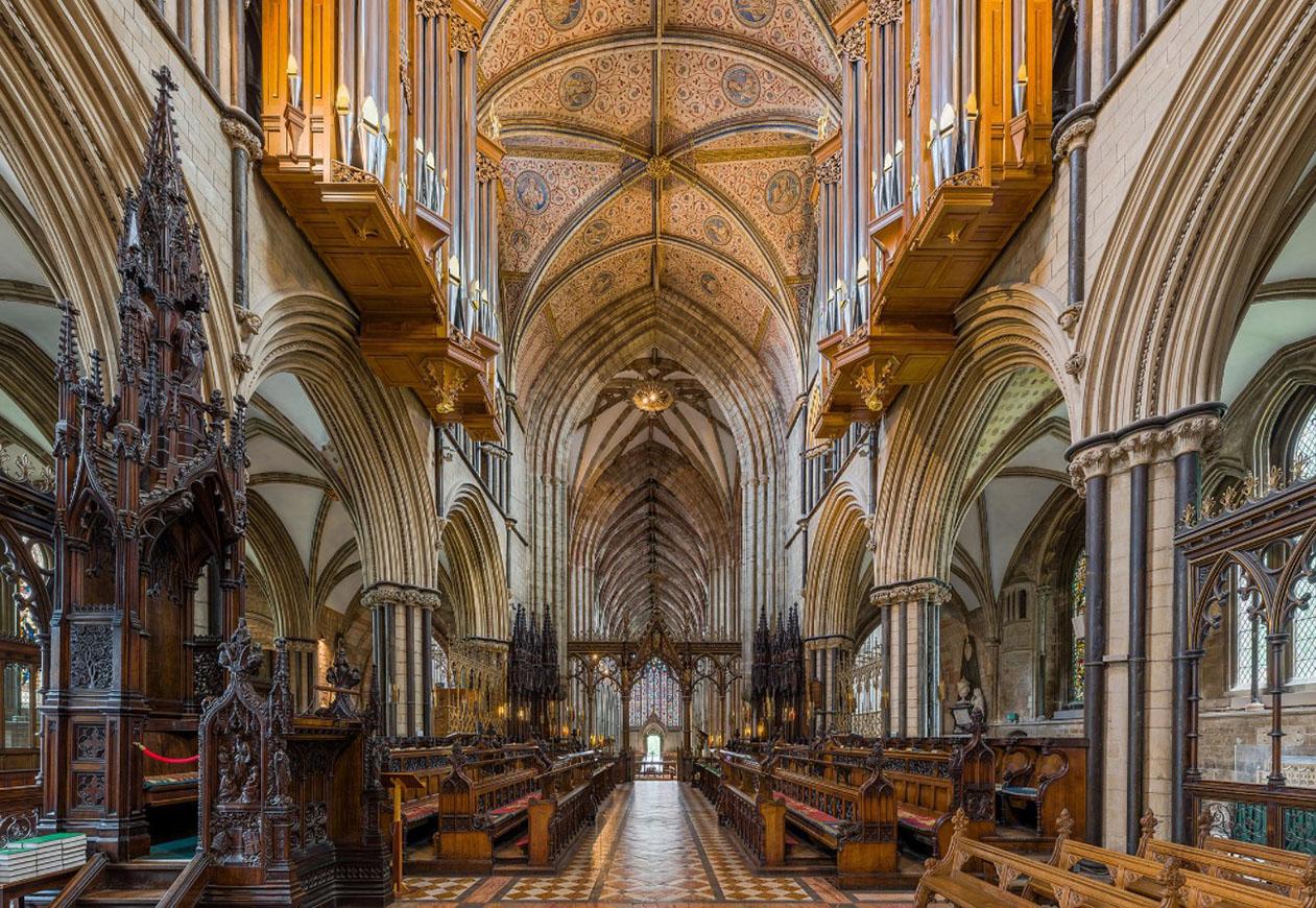 cattedrale di worcester viaggio studio