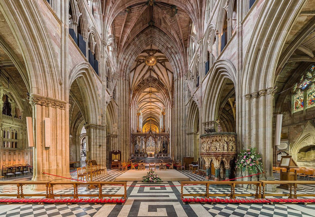 escursioni vacanze studio visita alla cattedrale di worcester
